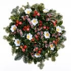 "20. Holly Wreath 12""/30cm"