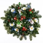 "22. Holly Wreath 12""/30cm"