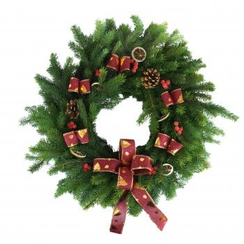 "30. Blue Spruce Wreath 10""/25cm"