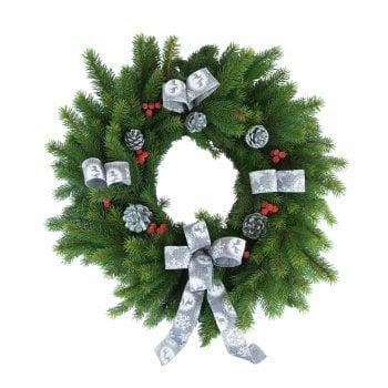 "32. Blue Spruce Wreath 10""/25cm"