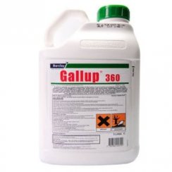 5L Gallup Amenity 360 Professional Glyphosate Weedkiller