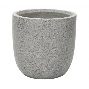 Apta Grey Granito Egg Pot