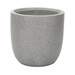 Grey Granito Egg Pot