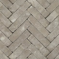 Clay Block Paving: Ash 200 x 50 x 65mm