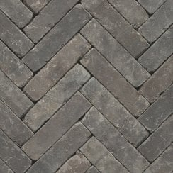 Clay Block Paving: Dove 200 x 50 x 65mm