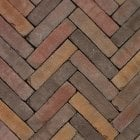 Clay Block Paving: Honeycomb 200 x 50 x 65mm