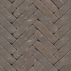 Clay Block Paving: Silver Birch 200 x 50 x 65mm