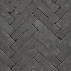 Clay Block Paving: Smoke 200 x 50 x 65mm