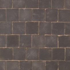 Dutch Square Clay Block Paving: Smoke 150 x 150 x 66mm