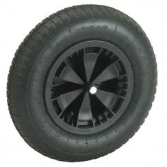 Black Pneumatic Spare Wheel for Walsall Wheelbarrow