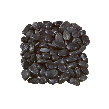 Black Polished Pebbles 60-20 mm