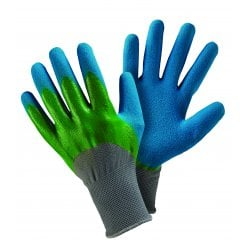 Double Dip Blue/Green Medium Gloves