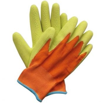 Briers Kids Junior Digger Green & Orange 5-9Yrs Gloves