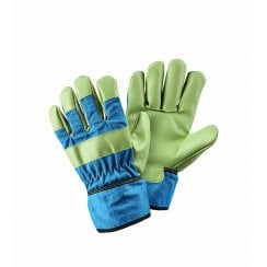 Kids Rigger Blue Medium Gloves