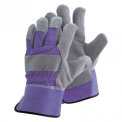 Ladies Rigger Lavender Gloves