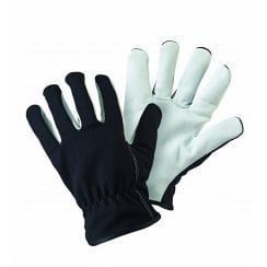 Lined Dual Leather Gloves