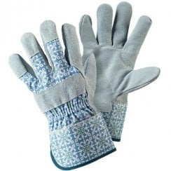 Moroccan Tile Ladies Rigger Medium Gloves