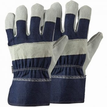 Briers Navy Rigger Twin Pack Large Gloves