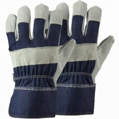 Navy Rigger Twin Pack Large Gloves