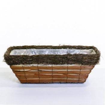 Brushwood Trough Planter 50cm