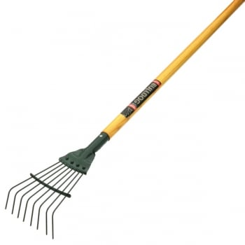 "Bulldog Premier Springbok Junior Lawn Rake - 8 Tines - 54"" Ash Shaft"