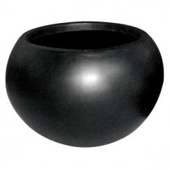 Black Ball Vase Planter