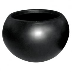 Black Vase Ball Planter I