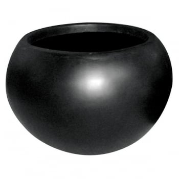 Cadix Black Vase Ball Planter II