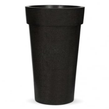 Cadix Black Vase Rim Tall Planter II