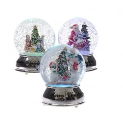 Colour Changing LED Snow Globe