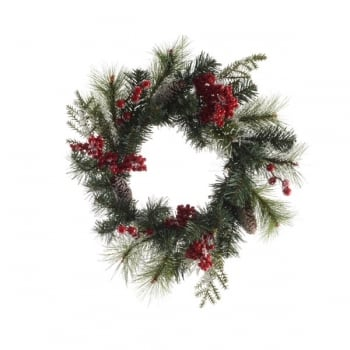 Decorative Berry Wreath