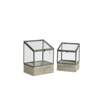 Elton Terrarium (Set of 2)