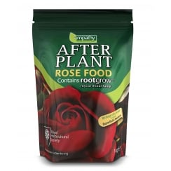 After Plant Rose Food with Rootgrow Mycorrhizal Fungi