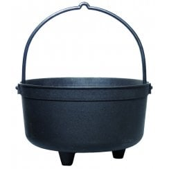 Black Cauldron Planter 5.3 Litre