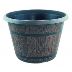 CTi Cask Planter With Black Band 6 Litre