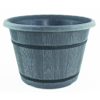 Fargro CTi Cask Planter With Black Band 9 Litre