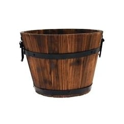 CTi Chestnut Cask Planter