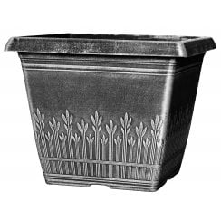 Cti Wheat Bundle Square Planter 7.9 Litre