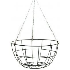 Wire Growers Flat Bottom Hanging Basket