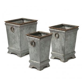Fitzwilliam Square Planters (Set of 3)