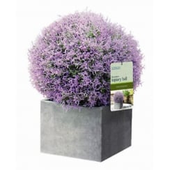 30cm Purple Heather Effect Topiary Ball