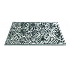 Circles Rubber Cast Doormat