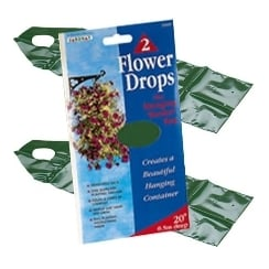 Flower Drops Hanging Basket Bags (2 pack)