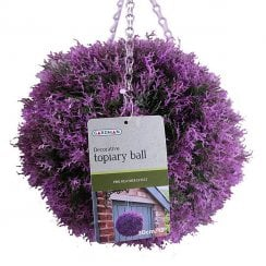 Heather Effect Topiary Ball