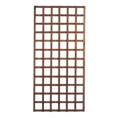 Heavy Duty Square Tan Trellis Panel