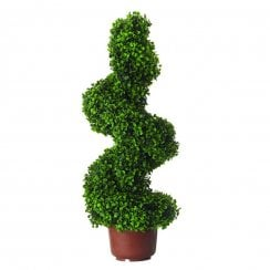 Leaf Effect Topiary Spiral Swirl