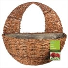 Rustic Wall Basket 12""