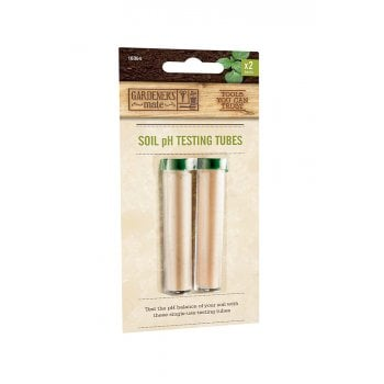 Gardman Soil pH Testing Tubes 2 Pack
