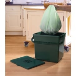 Biodegradable 9L Compost Caddy Bags
