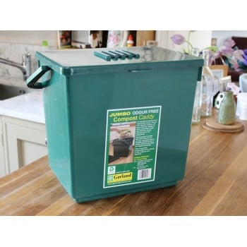 Garland Jumbo Odour Free 30L Compost Caddy